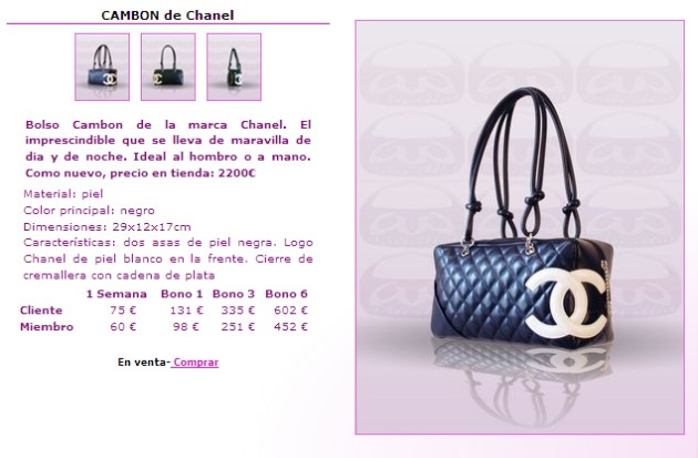 Bolso Cambon Chanel