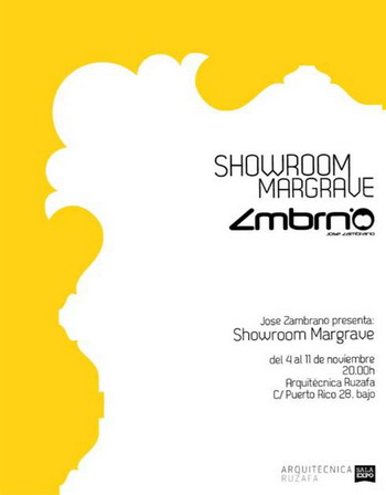 ShowRoom Zambrano en Arquitecnica Ruzafa