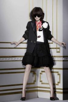Chaqueta y falda de Lanvin para H&M