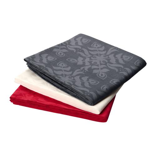 Mantel estampado rojo de ikea smiling look - Mantel plastificado ikea ...