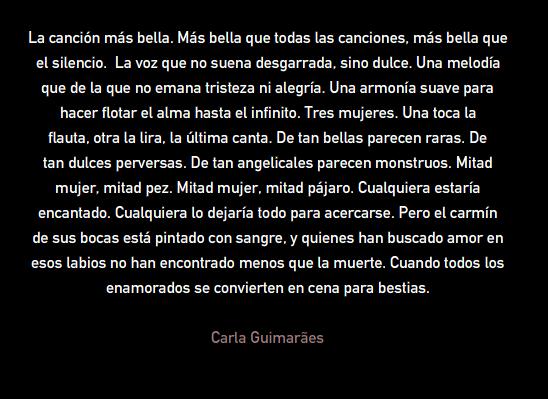 Sirenas Carla Guimaraes