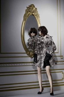 Abrigo de Cebra de Lanvin para H&M
