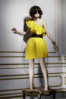 Vestido amarillo de Lanvin para H&M
