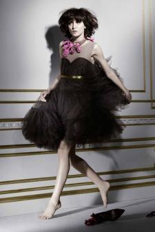 Vestido tipo princesa de Lanvin para H&M