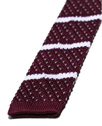 corbata de punto de zara