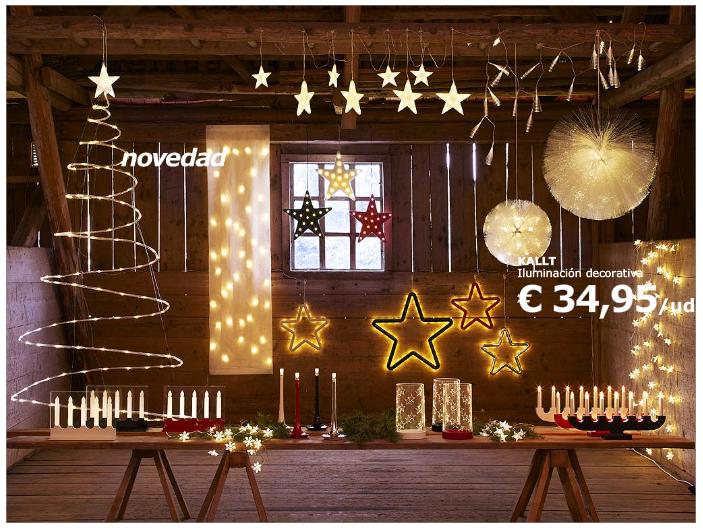 Navidad smiling look - Ikea iluminacion decorativa ...