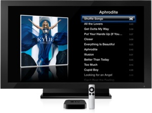 television con apple tv