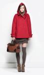 u adolfo dominguez abrigo rojo