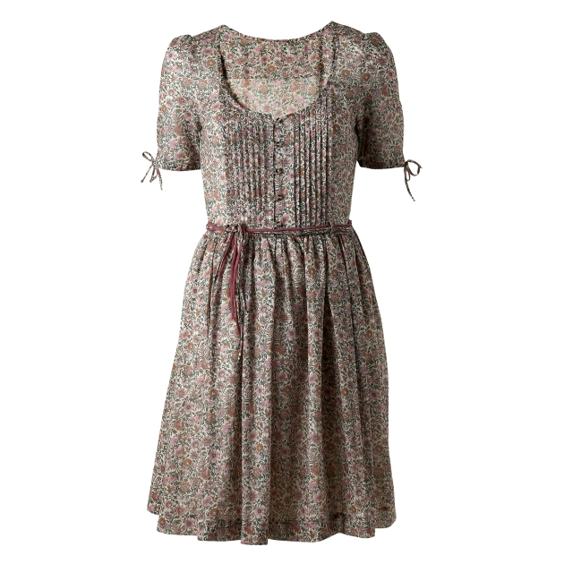 vestido de flores privamera 2011 MANGO