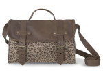 blanco bolso maletin leopardo