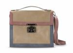 blanco bolso cartera rosa azul beis