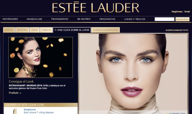 estee lauder maquillaje virtual