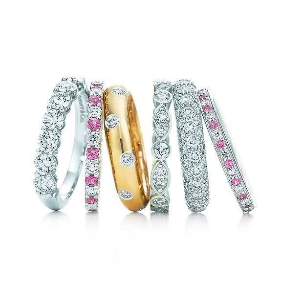 Tiffany Celebration® rings