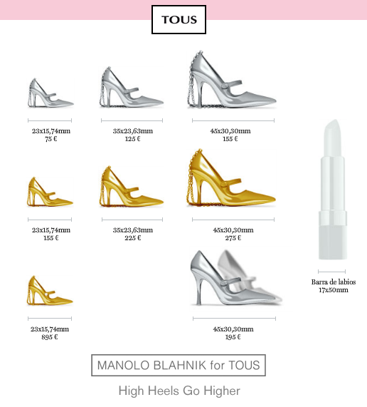 manolo blahnic for tous