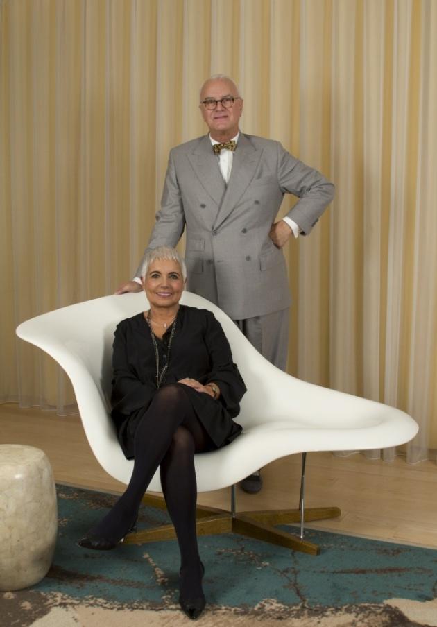 Manolo Blahnik y Rosa Tous