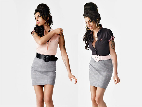 Amy Winehouse Fred Perry primavera verano 2011