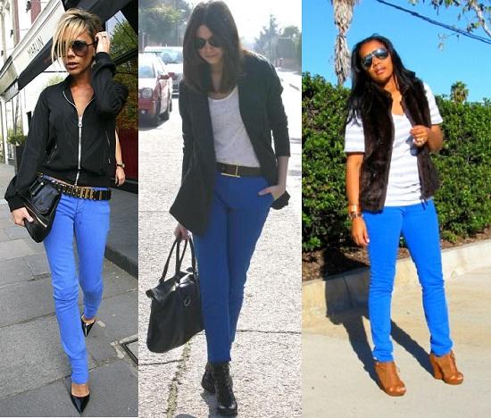 Tendencias primavera verano 2011 smiling look for Combinaciones con azul