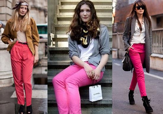 Tendencias primavera verano 2011 smiling look for Colores para combinar con rosa