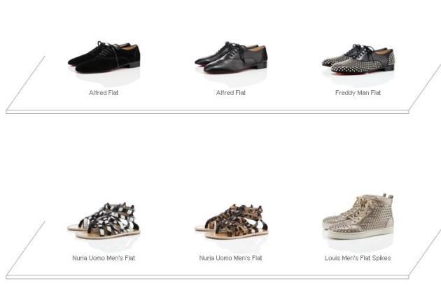 zapatos louboutin hombre