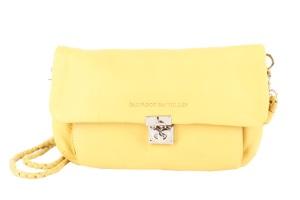 bolso de piel amarillo de salvador bachiller