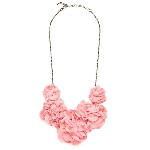 collar babero flores springfield