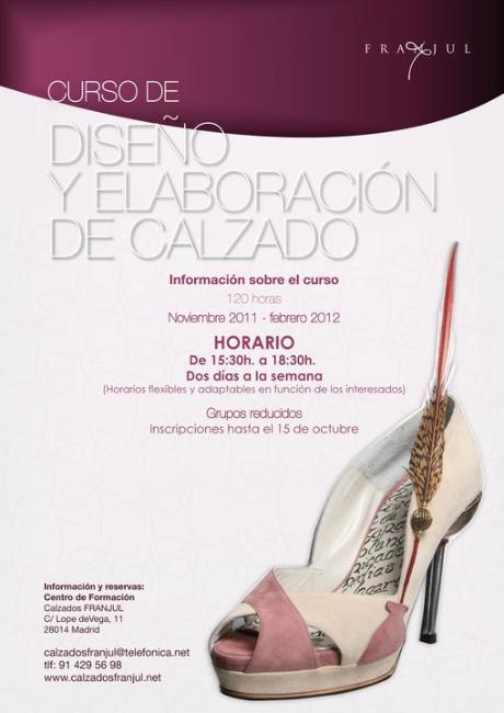 curso de diseño de zapatos en FRANJUL