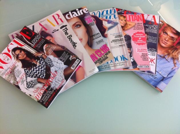 Revistas de moda del mes de Febrero