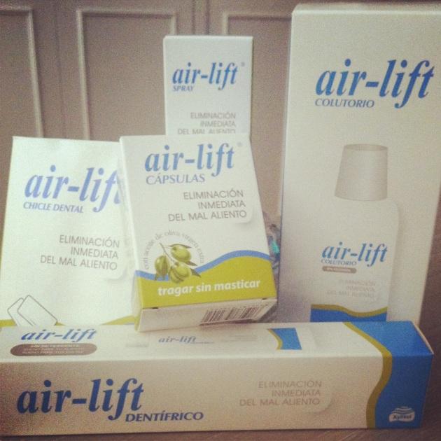 Línea de productos air-lift