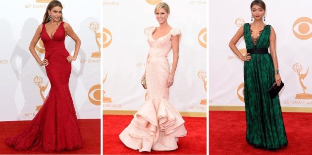 las chicas de modern family en los Emmy 2013