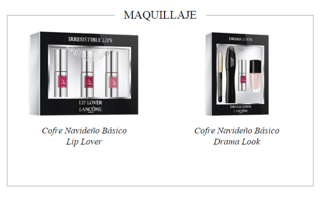 cofres maquillaje LANCOME