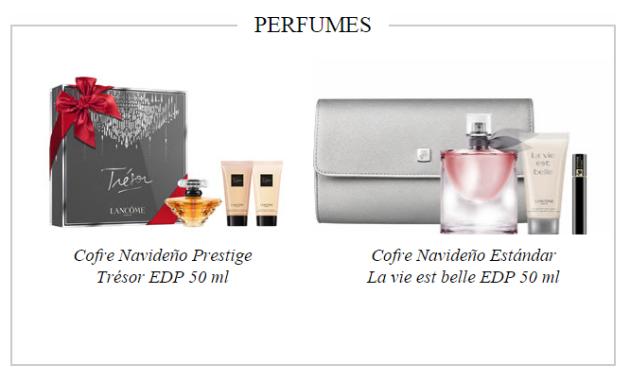 cofres perfumes LANCOME