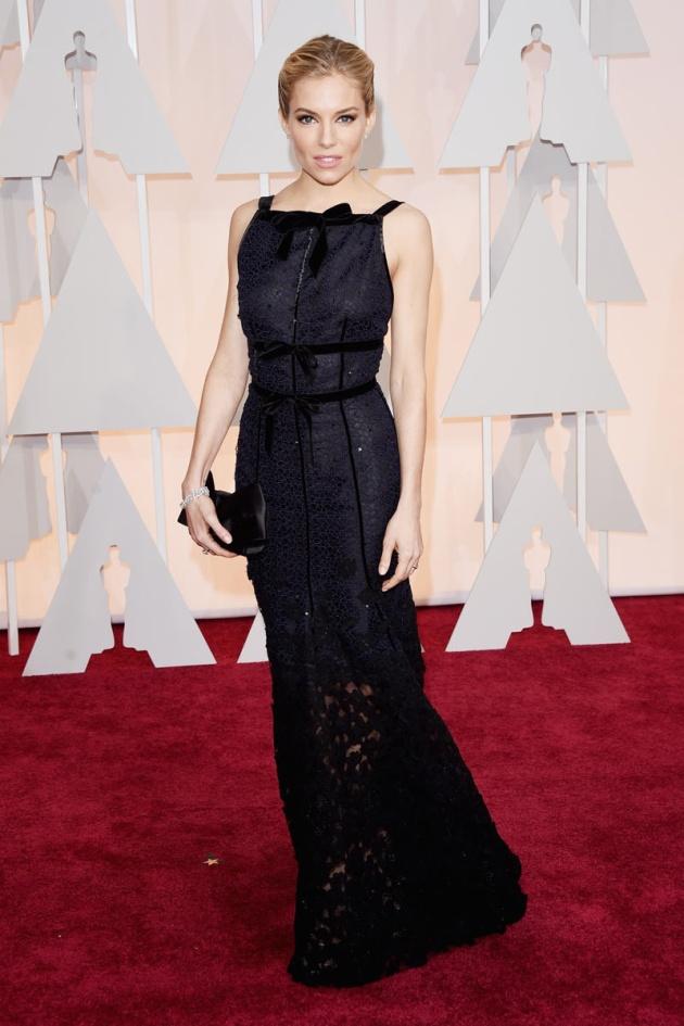 Sienna Miller de Oscar de la Renta