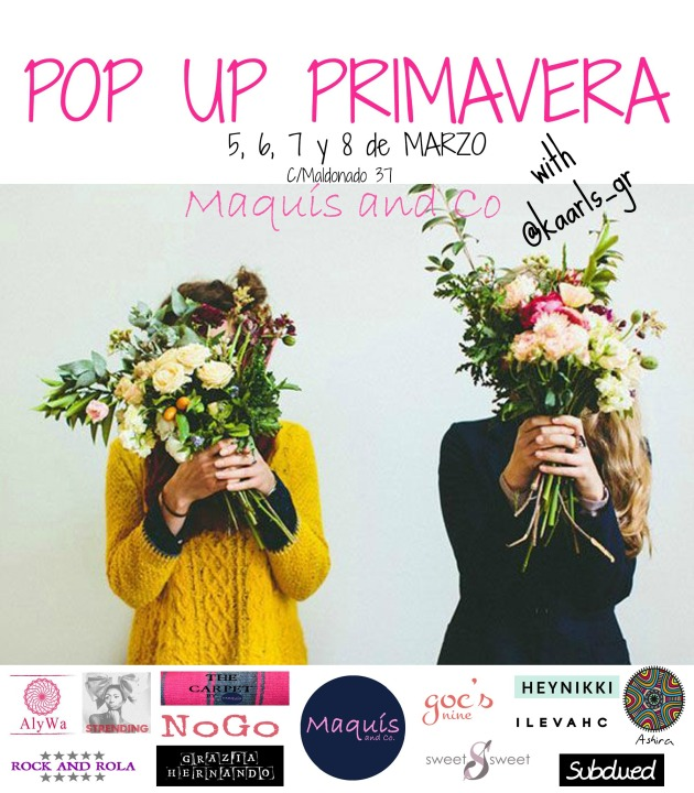 pop up primavera I